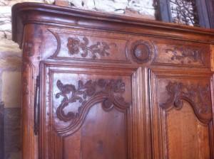 armoire sculpture du haut