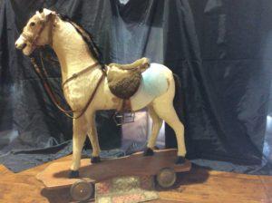 cheval profil